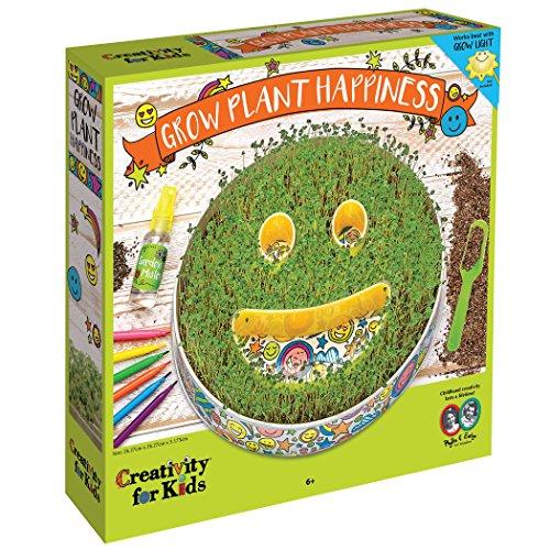 Creativity for Kids Plant An Emoji Garden Kit - Emoji Garden Craft Kit for Kids (Garden Kit Craft)