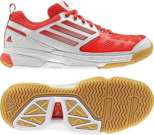 Adidas Handballschuhe Feahter Elite 2 Women neon rot/ weiß INFRED/RUNWH