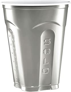 product image for Solo Squared Cups, 18 Oz, Silver, 60 Count