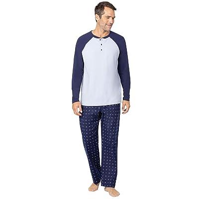 Addison Meadow Pajamas for Men - Mens Pajamas Set, Raglan Top at Men's Clothing store