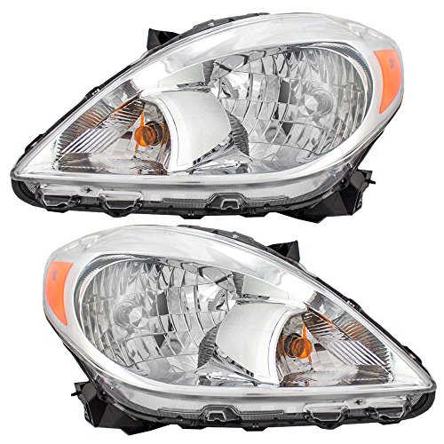Driver and Passenger Headlights Headlamps Replacement for Nissan 26010-3AN0B 26060-3AN0B - Headlamp Replacement Nissan