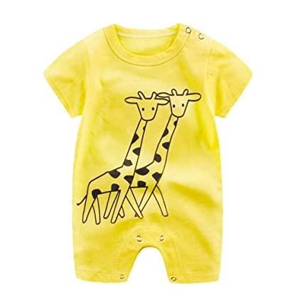 c030f28262c3 Image Unavailable. Image not available for. Color  ZLOLIA Baby Clothes  Autumn Winter Newborn Boy Girl Cartoon Romper Cute ...
