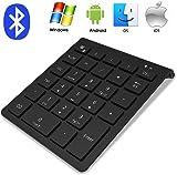 f3179e71591 Bluetooth Numeric Keypad, IKOS Portable Wireless Bluetooth 28-key External Number  pad with Multiple