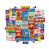 Care Package for College Students, Military, Valentines Day or Back to School (50 Count) From Snack Box … For Sale