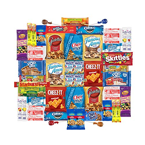 - Care Package for College Students, Military, Easter, Finals or Back to School (50 Count) From Snack Box …