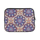 Best Case Logic Macbook Pro Cases 13 Inches - Design Custom Round Floral Geometric Arabic Persian Ornament Review