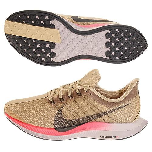 Nike Zoom Pegasus 35 Turbo, Zapatillas de Atletismo para Hombre, (Parachute Beige/Black/Pumice/Red Orbit 200), 40 EU: Amazon.es: Zapatos y complementos