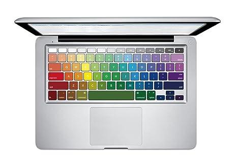 NetsPower® A Todo Color Vinilo Teclado Calcomanía Pegatina Adhesivo Sticker Power-up Art para