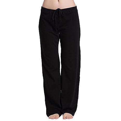 Komise Mujeres Mujer Stretch Elastic Soft Fit beiläufige múltiple patrón Dormir Yoga Diario Pijama Pantalones Pantalones