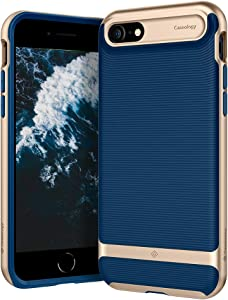 Caseology Wavelength for Apple iPhone SE 2020 Case for iPhone 8 Case (2017) for iPhone 7 Case (2016) - Navy Blue