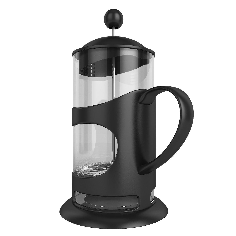 Cafetera de émbolo, Café Prensa de calor resistente plástico Jarra ...