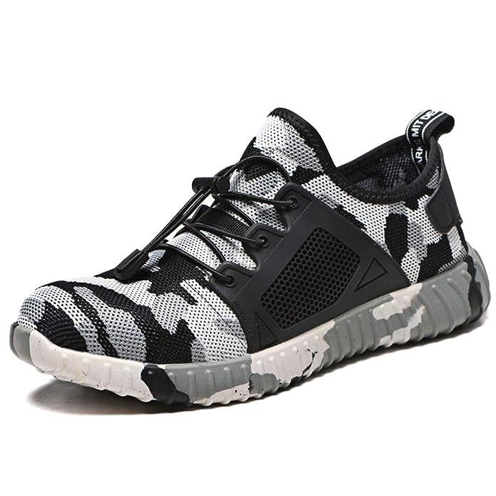 Acier Protection Chnhira Léger Unisexes Securite Sécurité Chaussures Homme Travail De Basket Embout WEDYH2Ie9
