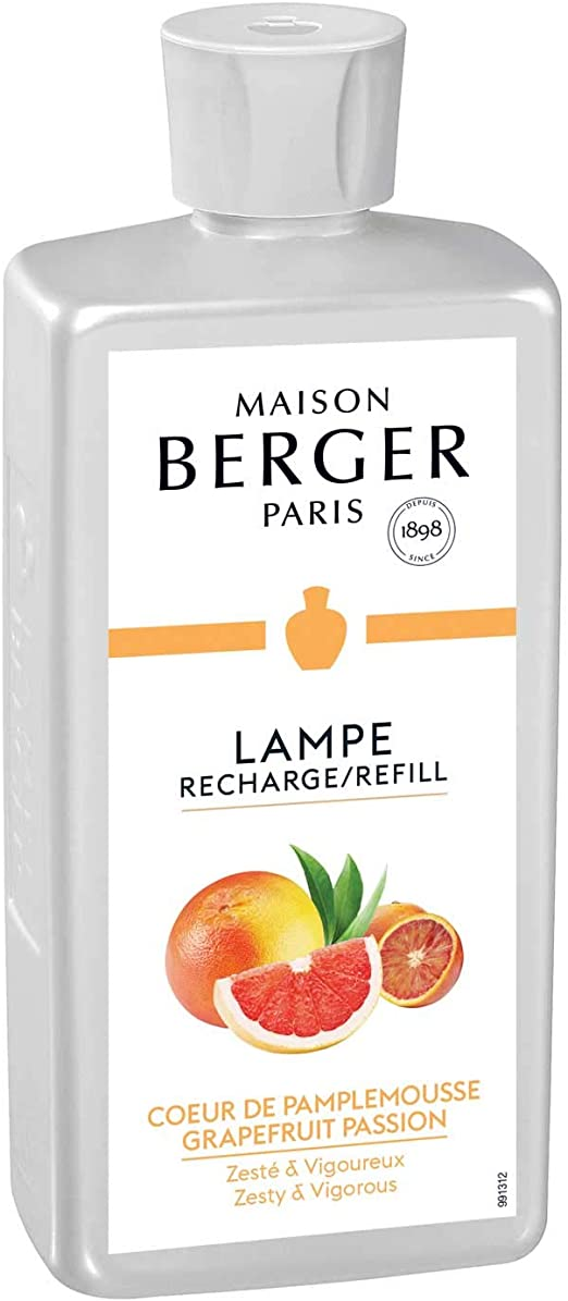 LAMPE BERGER 115007 Coeur de pamplemousseGrapefruit Passion