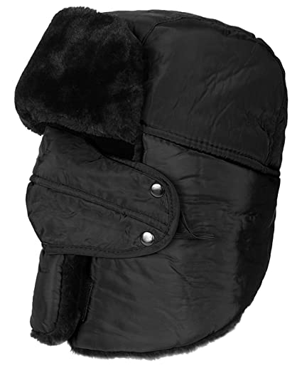 b9c4e731549 Amazon.com   ICOLOR Winter Hat with Ear Flaps