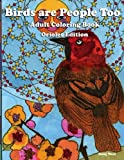 Birds are People Too - Coloring Book - Orioles