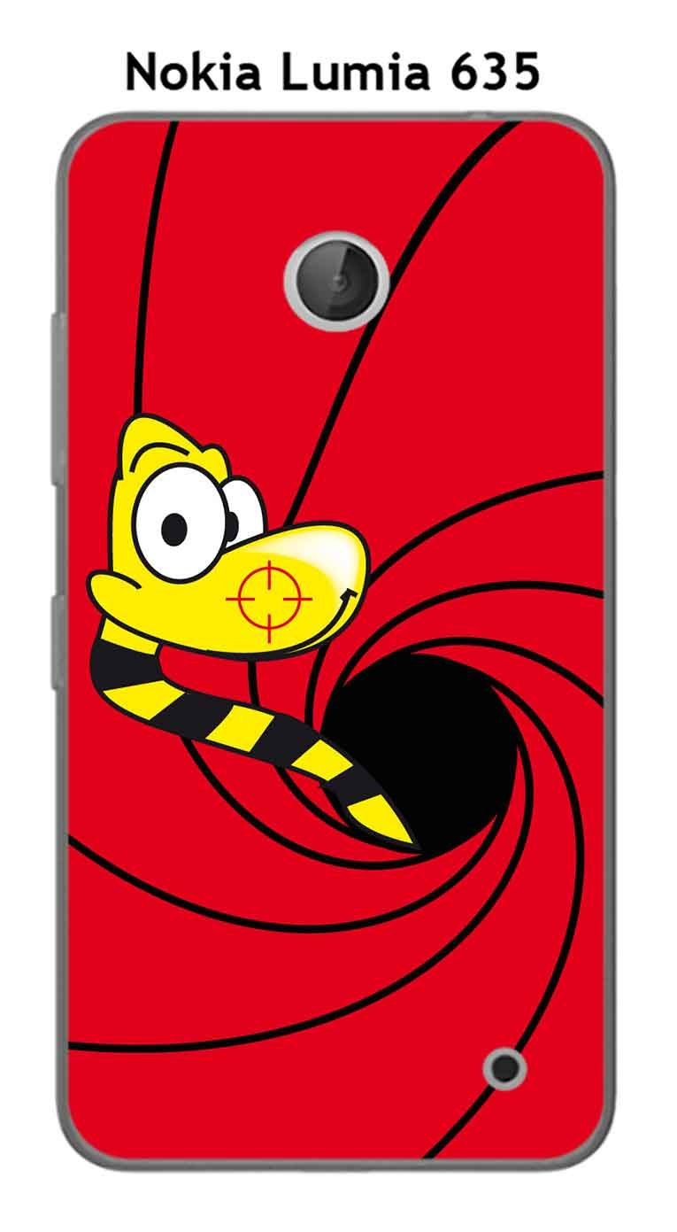 Onozo Carcasa Nokia Lumia 635 Design Snake: Amazon.es ...