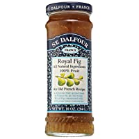 St. Dalfour Royal Fig Fruit Spread, 10 Ounce