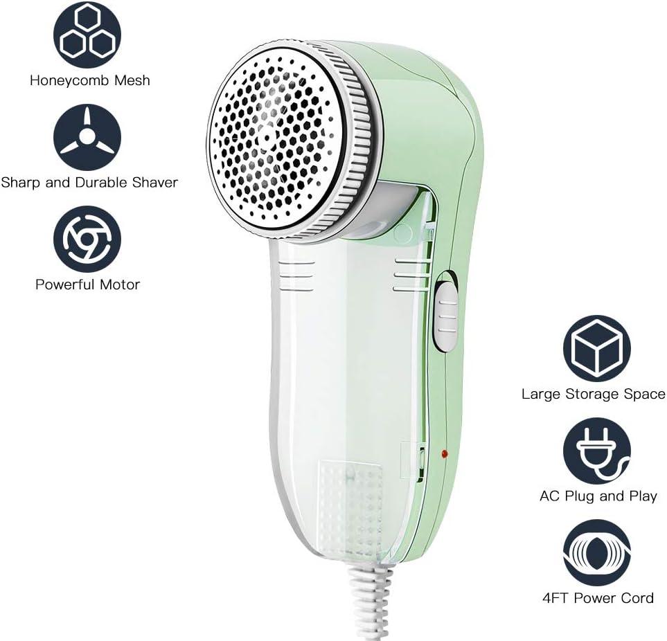 Allisable Fabric Shaver, Fuzz Balls Pills Lint Remover, AC120V Plug and Play