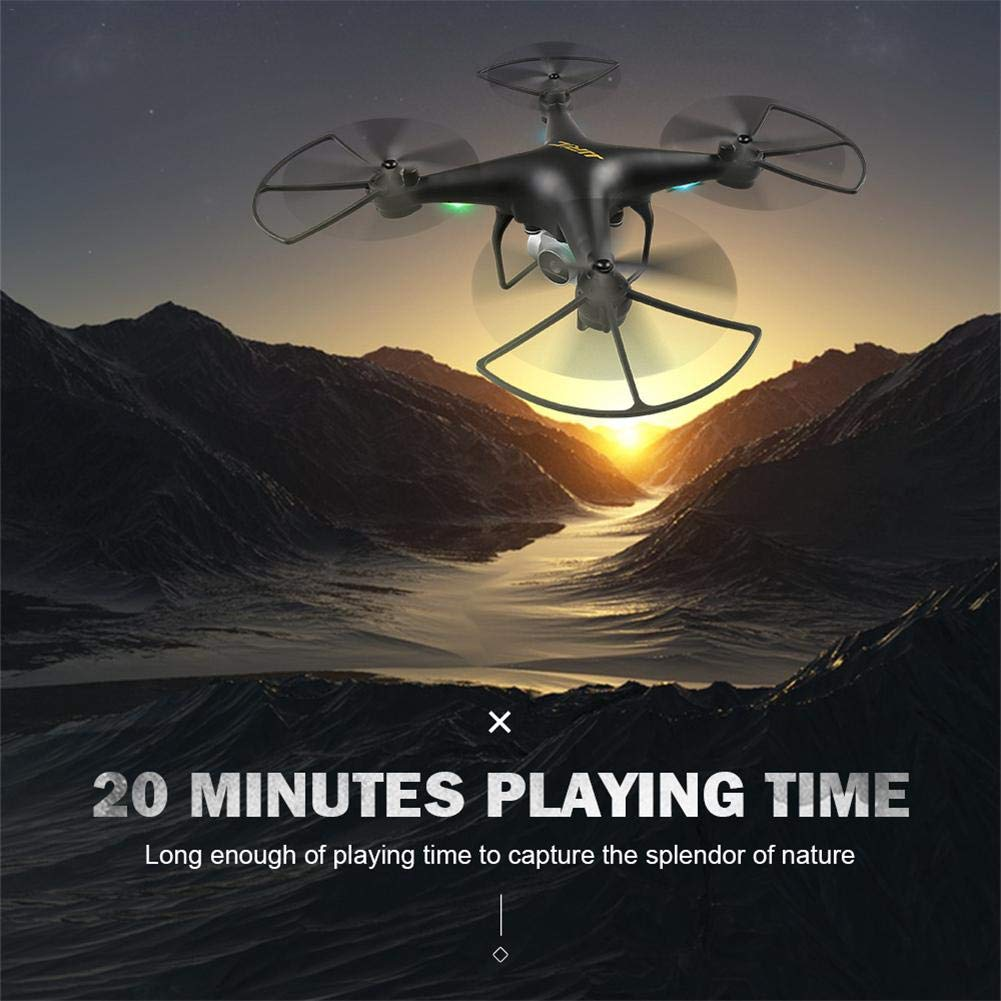 StageOnline RC Drone, JJRC H68 3D Rollo de Quadcopter con 2 Millones de cámaras WiFi de Video, Modo Headless WiFi fotografía aérea HD cámara Quadcopter