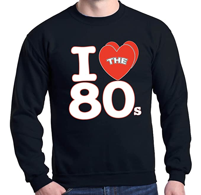 I Love Heart Disco Sweatshirt Clothing, Shoes & Accessories Men's Clothing