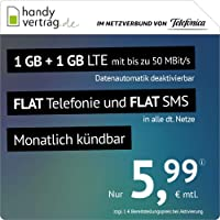 Teléfono móvil Contrato LTE All 1 GB – mensualmente anunciable