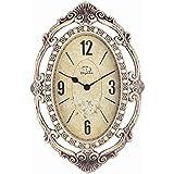 SMC 26-inch Super Large Size Living Room Decorative Wall Clocks Retro Vintage Indoor Silent Decorative Wall Clock