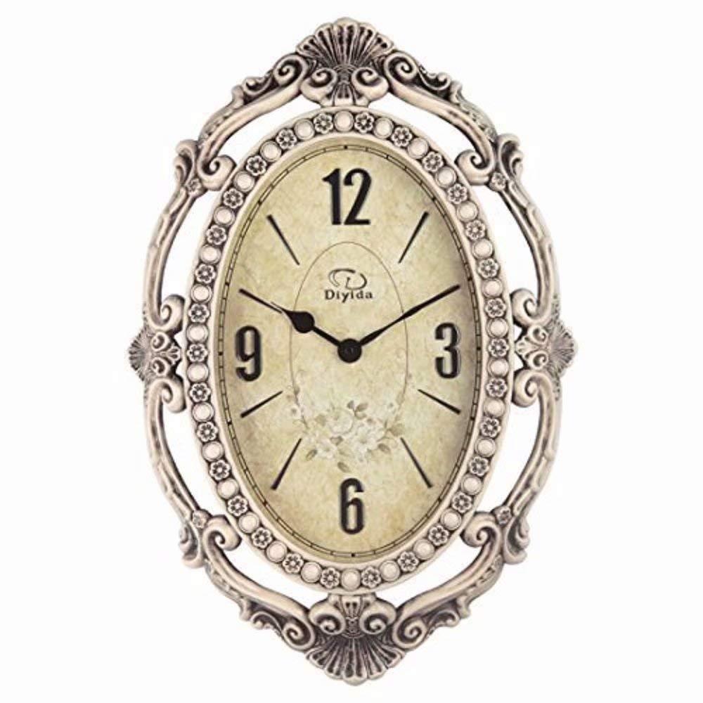 SMC 26 Pouces Super Grande Taille Salon décoratifs horloges murales rétro Vintage intérieur Silencieux Horloge Murale décorative