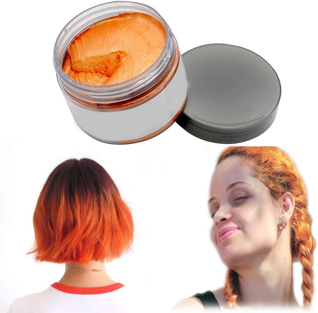 Cera de color para el cabello, modelado temporal de color natural, tinte para el cabello, peinado natural mate para fiesta, disfraces, carnaval, ...