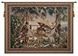 King Borne Belgian Tapestry Wall Hanging