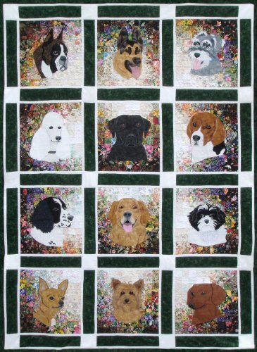 (Whims Watercolor Quilt Kits Rachel's Dog Kennel Quilting)