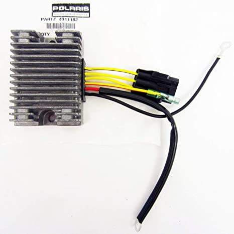 Amazon com: Polaris New OEM Voltage Regulator Rectifier 4011182