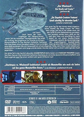 Sharktopus VS Whalewolf-Uncut Edition
