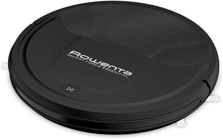 Rowenta RR6925 WH aspiradora robotizada Negro 0,25 L - Aspiradoras robotizadas (Negro, Alrededor, 0,25 L, 65 dB, Edge, Azar, Random room, Suelo duro): Amazon.es: Hogar