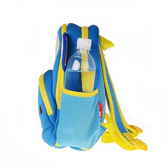 Amazon.com | Cute Monkey Kids Pack Toddler Girls Boys Sidekick Backpacks, Blue | Kids Backpacks