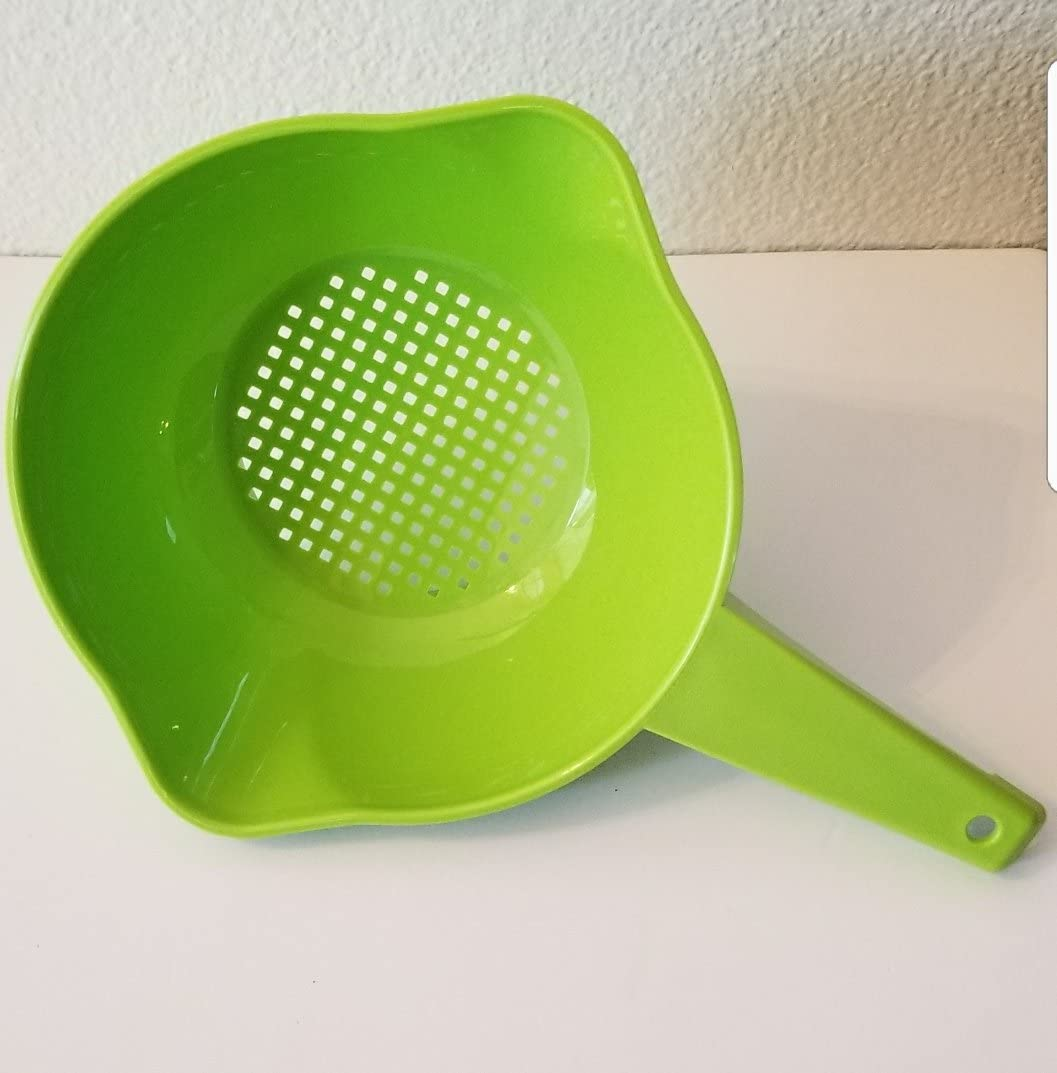 Tupperware Large Quart Colander with Handle in Assorted Colors