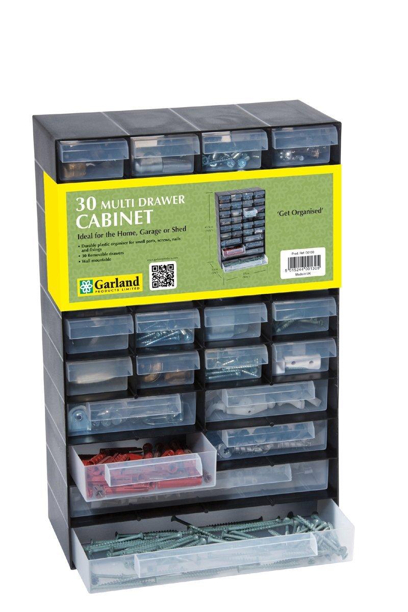 Garland, 30 Schubladen, Schränke, Haus, Garage oder Schuppen Schränke