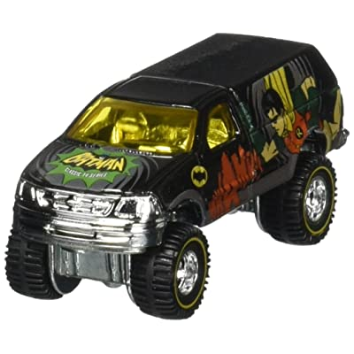 Hot Wheels Batman TV Series Robin Ford F-150 POP CULTURE REAL RIDERS: Toys & Games