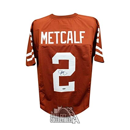 3eed14803 Image Unavailable. Image not available for. Color: Eric Metcalf Autographed  Jersey ...