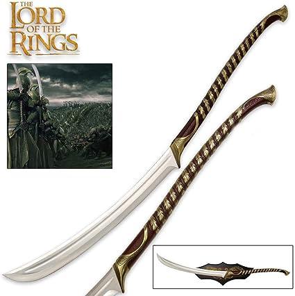 Amazon.com: Espada de High Elven Warrior de El Señor ...