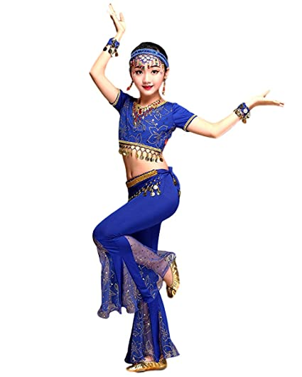 Grouptap Bollywood Indian Girls Tribal Lace Fishtail Dance ...