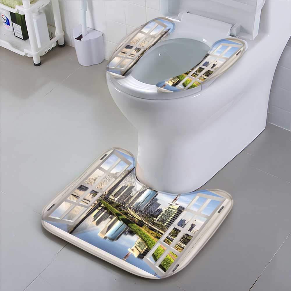 HuaWu-home The Toilet CondomSao Paulo Brazil Latin America Bathroom Accessories by HuaWu-home