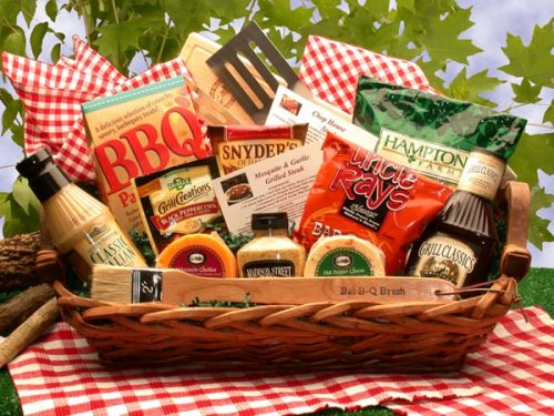 Barbeque Blast! Gourmet BBQ Grilling Gift Basket