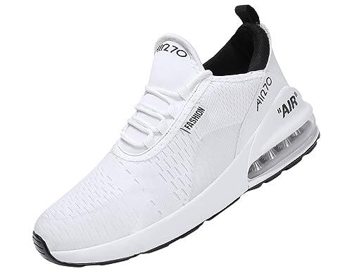 SINOES Zapatillas Running Hombre Mujer Zapatillas Deportivas Hombre De Cordones En Gimnasio Aire Libre Y Deporte Transpirables Casual Zapatos Gimnasio ...