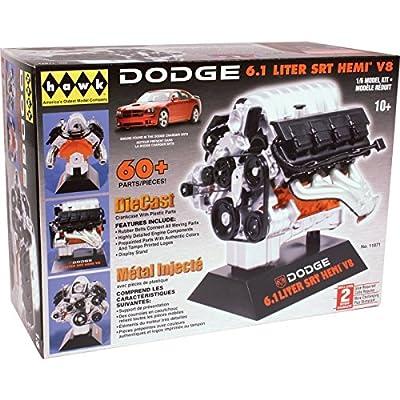 Hawk 1/6 scale Dodge SRT-8 diecast engine kit: Toys & Games