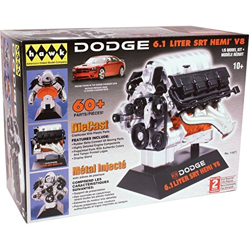 Hawk 1/6 scale Dodge SRT-8 diecast engine kit, used for sale  Delivered anywhere in USA
