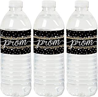product image for Prom - Prom Night Party Water Bottle Sticker Labels - Set of 20