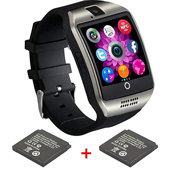 0fb5b57136d Amazon.com  Bluetooth Smart Watch with Camera