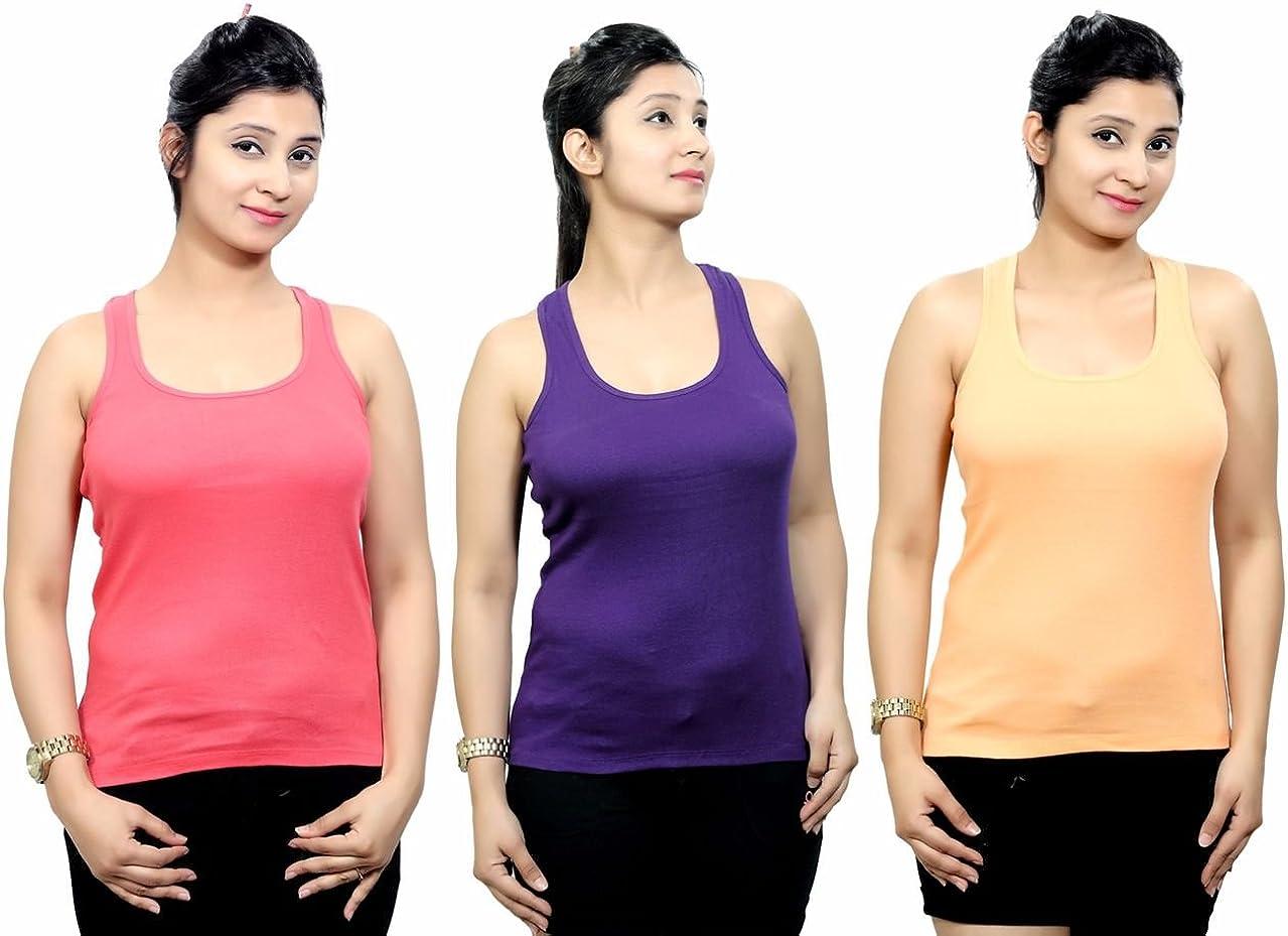 Q-rious Womens Cotton Lycra Camisole