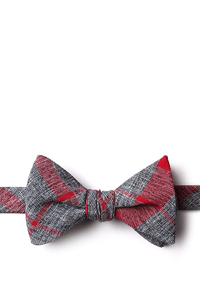 Kirkland Red Cotton Butterfly Bow Tie