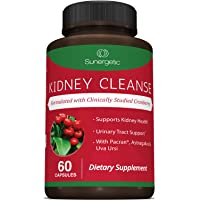 Premium Kidney Cleanse Supplement – Powerful Kidney Support Formula with Cranberry...